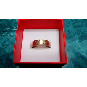 Argolla Matrimonial Oro Sólido 10 Kilates