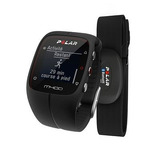 Relógio Polar M400 Monitor Cardíaco Gps Bluetooth Preto + H7