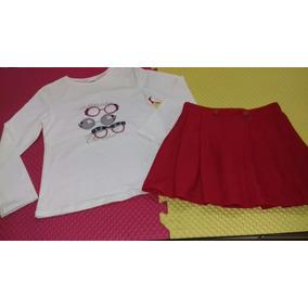 Conjunto De Blusa Y Falda Mayoral Niña #8 Años