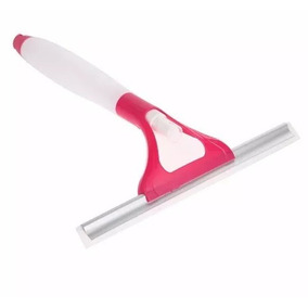 Rodinho Com Spray Prático Limpeza De Vidros, Sacadas E Pias