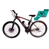 Bike Elétrica Aro 29 Al. Bat. De Litio Tec-ultra 21v.+ Rfire