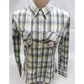 Camisa Xadrez - Camisa Manga Longa Verde em Minas Gerais no Mercado ... 369f8138e82