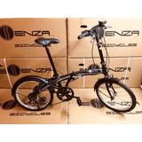 Bicicleta Plegable Essenza Versatile En Aluminio