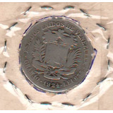 Moneda De 2 Bolívares De Plata Año 1924