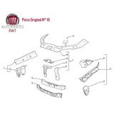 Travesanio Superior Estructura Frontal Fiat Idea Original®