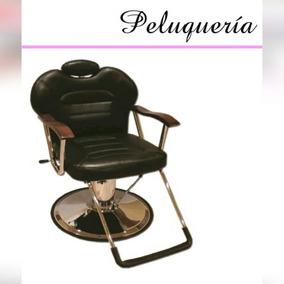Silla De Peluqueria Hidraulica Reclinable Profesional