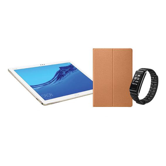 Tablet Huawei Mediapad M5 Lite 10.1'' + Funda + Smartwatch