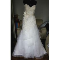 Vestido De Noiva Casablanca Bridal Ref 2043 Novo