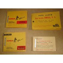 Kodak Lote 2 De Foto Albums Antiguas 50