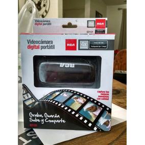 Videocamara Digital Portatil Rca Ez1121 Incluye Sd Card 8gb