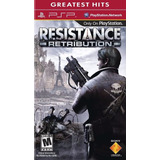 Juego Psp Resistence Retribution - Nuevo Sellado