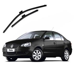 Palheta Limpador Para-brisa Slim Volkswagen Polo Sedan 10...