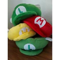 Gorra Mario Bros Peluche