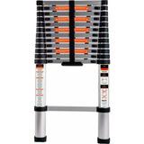 Escada Alumínio Telescópica 12 Degraus 3,8m Estendida Belfix