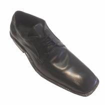 Zapatos De Vestir De Hombre Con Cordones Punta Chata
