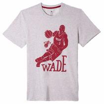 Playera Dwayne Wade Basquetbol Hombre Adidas Aa7761