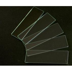 Portaobjetos Para Microscopio 50pzas Prelavados 1mm Grosor