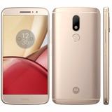 Motorola Moto M Xt1663 4/32gb 4g 2chip Tela 5.5 Cam.16mp+8m