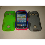 Forro Doble Color Para Sansung Xcover 2 S7710