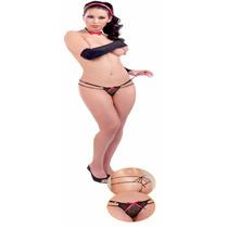 Lencería Sexy Tanga Diseño De Tiras Dama Modelo Cameron