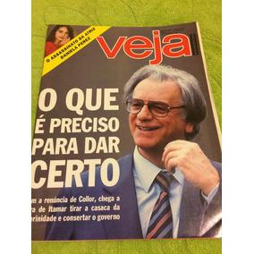 Revista Veja 93 N 1269 Itamar F Assasinato De Danela Perez