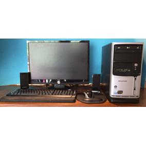 Pc Completo Core2 Quad Q6600 4gb 1tb Geforce 1gb + Wi-fi 22¨