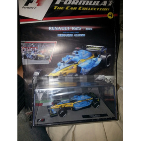 Formula 1 N°4 Renault F. Alonso. Blister Abierto Excelente