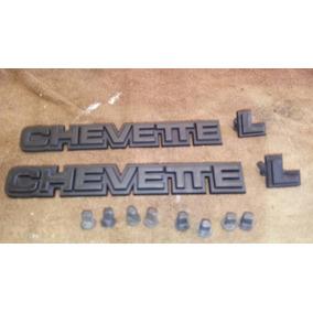 Emblema Chevette L 1.6/s 91 92 93 Dl Júnior Sl Sle Ss Tubarã