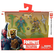 Muñeco Fortnite Battle Royale Collection Set X2 Con Acces.