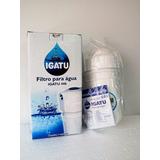Kit Filtro De Água Igatu Com Carvão Ativado + 2 Refis 446