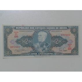 Notas Cédulas Dinheiro Antigo 2(dois Cruzeiros) Série 429 A