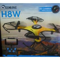 Mini Cuadricoptero Eachine H8w Con Camara 2 Megapixeles Wifi