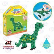 Aq-8288 Aqua Figuras Dinosaurio Kit Cuentas Se Pegan C/ Agua
