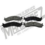 Pastillasfreno Del 7535 F350 E350. Dodge Ram 2500 3500