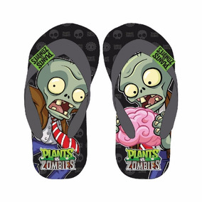 Ojotas Goma Plants Vs Zombies Originales 25/32 Kids