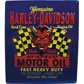 Placas Diversas Harley Davidson