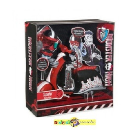 Monster High Scooter Da Ghoulia Yelps Original Mattel 2011