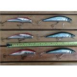 Pack De Señuelos Para Corvina Lenguado Salmon
