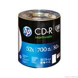 Cd-r Hp Bulk C/100 Pzas 80 Min 700 Mb
