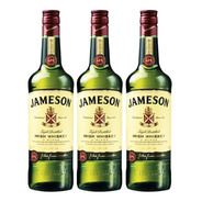 Whisky Jameson Irlandes 750ml Ml Triple Destilado Pack X3 Un