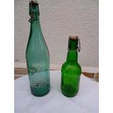 Botella Antigua De Soda Y Cerveza