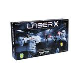 Pistolas Laser X 2 Jugadores Efectos De Sonido Y Luces Color