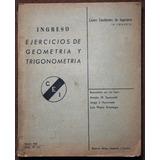 Ingreso - Ejercicios De Geometria Y Trigonometria - Ingenier