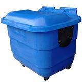 Conteiner Plástico Lixeira Contentor Lixo 1000l Promoção