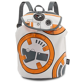 Star Wars Bb-8 Fashion Backpack Mochila Disney Store 2016