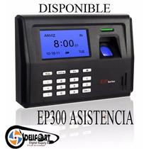 Control Asistencia Biometrico Ep300 Sistema Instalado Remoto