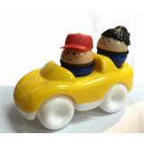 Auto Baby Car Con 2 Muñequitos Encastrables La Horqueta