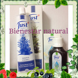 Set Just Crema De Enebro 96g + Oleo 31 X 50 Ml