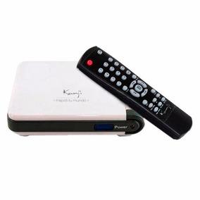 Sintonizadora Externa Tv Usb Kanji C/ Remoto Capturadora Tv