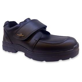 Zapato Negro Plumitas Con Abrojo